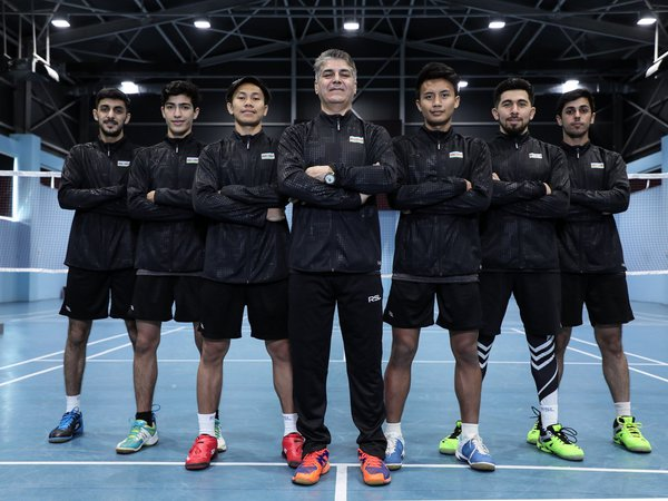 National men badminton team has named its players for the Team European Championship
